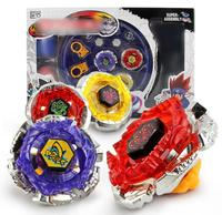 Beyblade Metal Fusion Set 4pcs Beyblades With Launchers Beyblade Arena Constellation Spinning Top Children Christmas Gifts