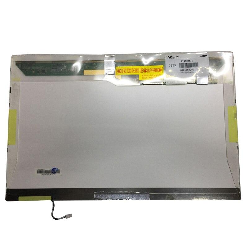 Grade A+ LTN184KT01 LTN184KT02 18.4 Laptop Glossy LCD Screen Panel Matrix 1680*945 1 CCFL 30Pin brand new 15 4 wxga 1280 800 1 ccfl 30pin laptop lcd screen for dell vostro series 1000 1500 1501 panel replacement