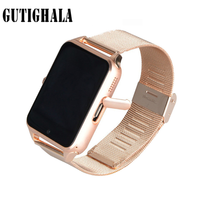 Gutighala New Sedentary Remind Inteligente Z60 Smart Watch TF Card Camera Bluetooth Smartwatch For IOS Android Phone T30