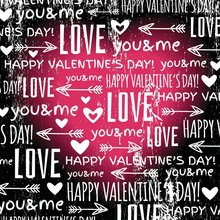 عيد الحب خلفية كيوبيد السهم أحبك و لي الحلو قلوب رومانسية خلفيات التصوير خلفية