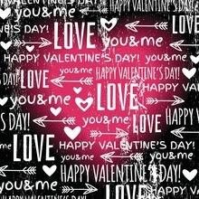 Fondo del Día de San Valentín Flecha de Cupid amor tú y yo dulces corazones romántico papel pintado fotografía fondo