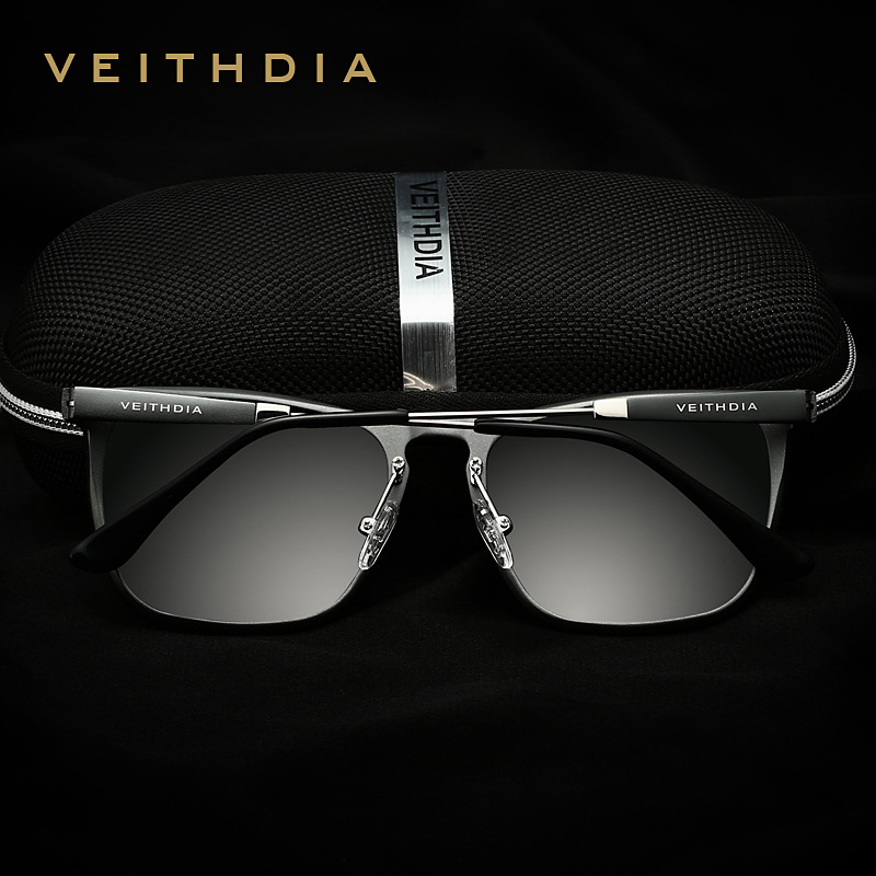 b6db7aef53 VEITHDIA Mens Square Retro Aluminum Sunglasses Polarized Blue Lens Vintage  Eyewear Accessories Sun Glasses For Men Women 6368-in Sunglasses from  Apparel ...