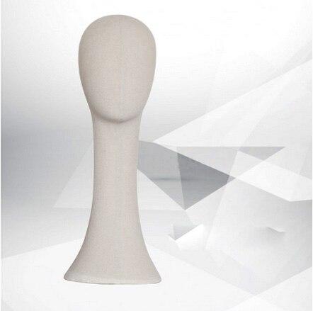 Nouveau Mannequin de tête de Mannequin en tissu de Style nouveau vente directe d'usine à la mode