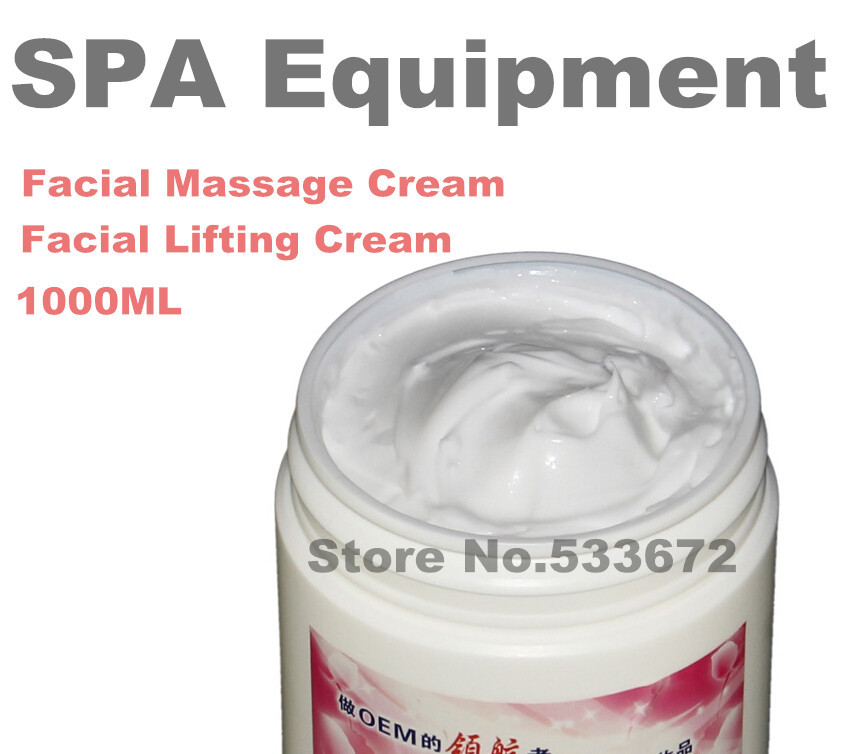 SPA Massage Cream Facial Face Lift Whitening Moisturizing Firming Lifting Cream Cosmetics Hospital Equipment 1000ML крем anariti face massage cream