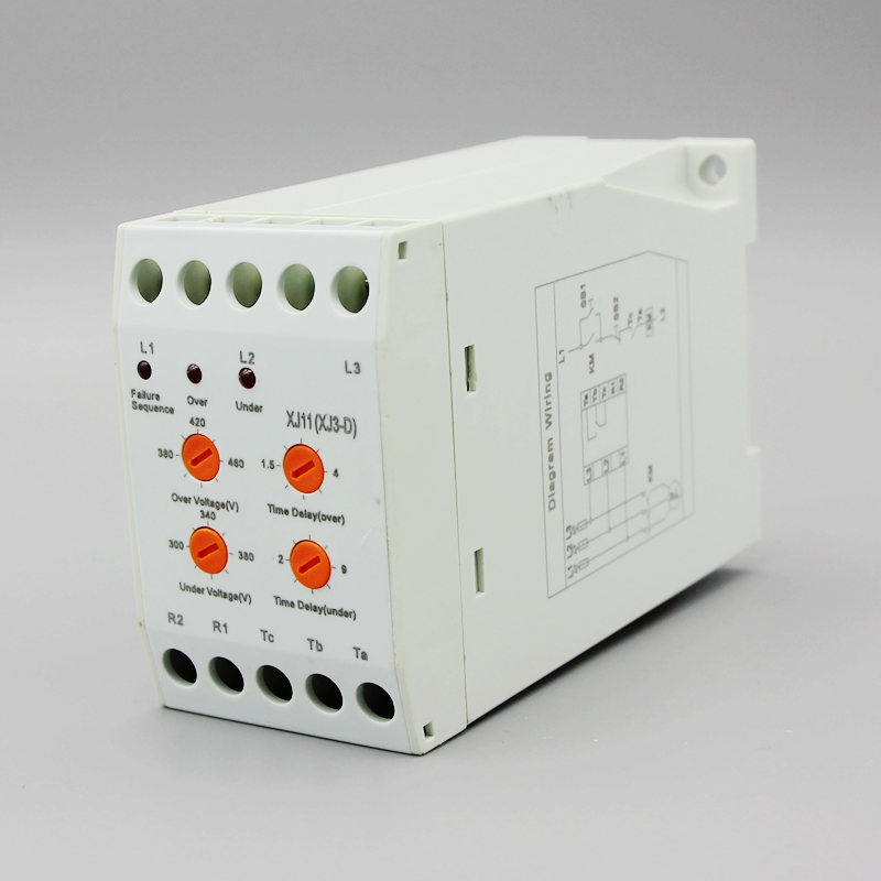 цена на XJ3-D XJ11 380V 3 Phase Failure Relay protector of phase failure,phase sequence and voltage unbalance