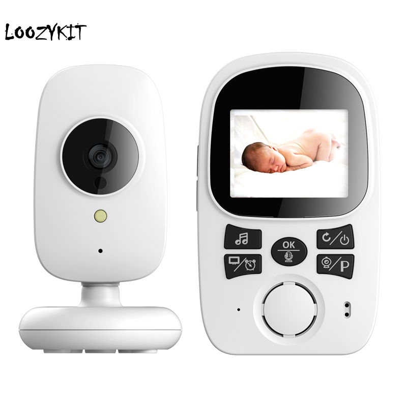 Loozykit 2.4 inch Wireless Video Baby Monitor High Resolution Baby Care Nanny Security Camera Night Vision Temperature MonitorsLoozykit 2.4 inch Wireless Video Baby Monitor High Resolution Baby Care Nanny Security Camera Night Vision Temperature Monitors