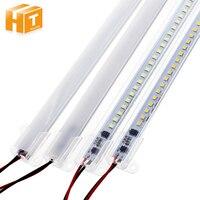 Светодиодный Light Tube AC220V высокое Яркость светодиодный бар огни 50 см 72 светодиодный s 2835 Светодиодный жесткой полосы энергосбережения светоди...