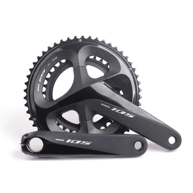 2018 nouveau SHIMANO 105 FC R7000 11 s 2x11 s 50x34 T 53x39 T 170mm 172.5mm pédalier creux Tech vélo route vélo chaîne roue