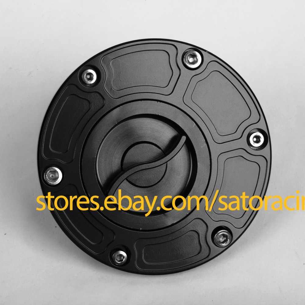 CNC Billet ถังเชื้อเพลิงสำหรับ Kawasaki Ninja 300 2013-2014 รถจักรยานยนต์น้ำมันหมวกอุปกรณ์เสริมหมวกแก๊สขายร้อน moto Petrol Cap