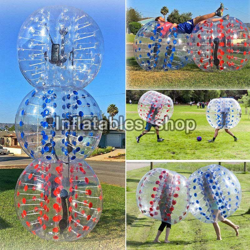 Air Bubble Soccer Zorb Ball 0.8mm PVC 1.7m Air Bumper Ball Adult Inflatable Bubble Football,Zorb Ball For Sale