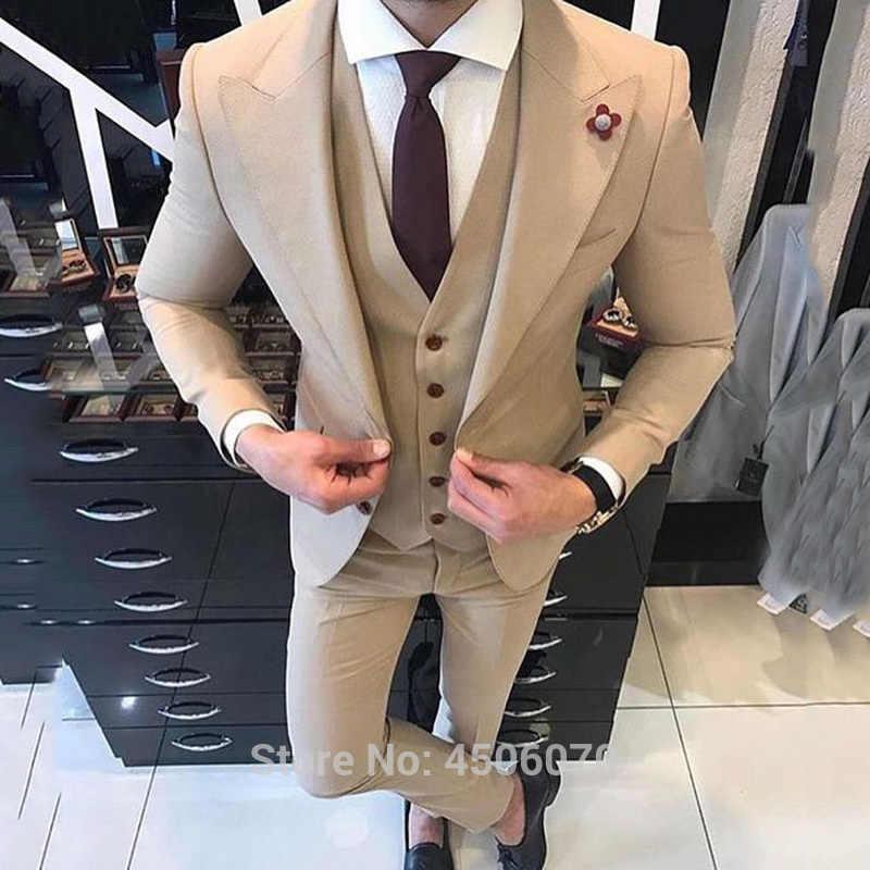 Khaki Mens Suits Smart Casual Business Slim Fit Wedding Tuxedos Groom Wear Ternos Hombre 2pcs Jacket Pants Costume Homme Mariage Aliexpress,Knee Length Wedding Guest Plus Size Formal Dresses
