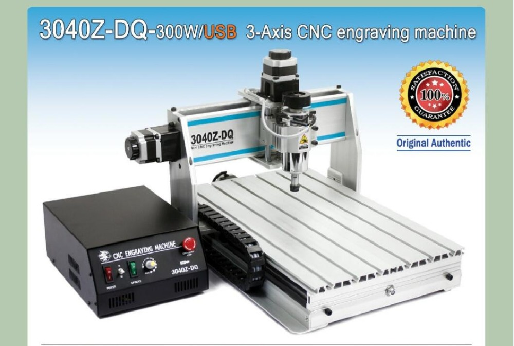 EU Ship/free VAT 3 Axis 3040 300W USB MACH3 CNC ROUTER ENGRAVER/ENGRAVING DRILLING AND MILLING MACHINE
