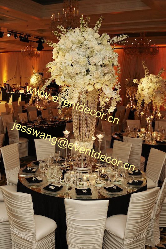 Free Shipment 10pcs Lots Crystal Wedding Centerpiece