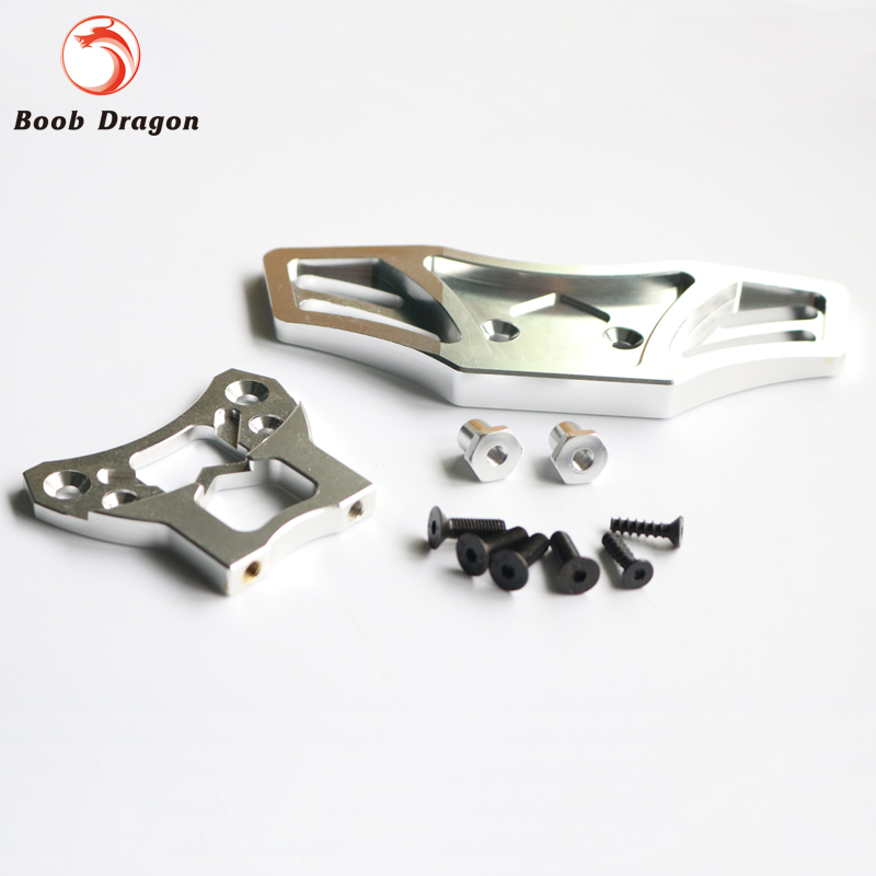 Baja CNC Alloy Front Bumper kit for 1/5 hpi baja 5b 5t 5sc rovan king motor