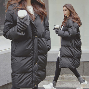 Image 4 - ファッション冬のジャケットの女性2020カジュアルロング冬コート女性黒プラスサイズの女性パーカーcasaco feminino jaqueta feminina