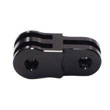 Black Camera Aluminum Extension Activity Connecter for 3 way Pivot Arm for Gopro Hero 2 3 3+ 4 Tripod Mount for SJ4000 for Xia