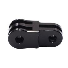 Gopro Hero 2 3 용 3 방향 피벗 암 용 블랙 카메라 알루미늄 확장 활동 연결자 Xia 용 SJ4000 용 3 + 4 삼각대 장착