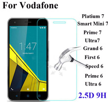 Tempered Glass For Vodafone Smart Prime 6 Ultra 6 7 Speed 6 First 6 Grand Screen
