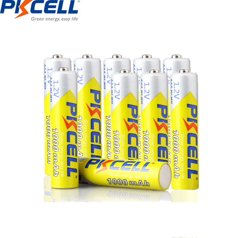 Consumer Electronics ... Accessories & Parts ... 32308087398 ... 5 ... 10PCS PKCELL 1.2v NIMH AAA Battery 3A 1000MAH AAA Rechargeable Battery aaa ni-mh batteries battery rechargea for flashlight toys ...