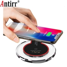Universal Qi Wireless Charger Charging Pad Mobile Phone Adap