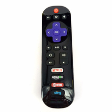 New Original FOR Hisense Roku TV Remote Control EN3B32HS Genuine Netflix Amazo.n Showtime new original remote control for hisense smart tv en2d27
