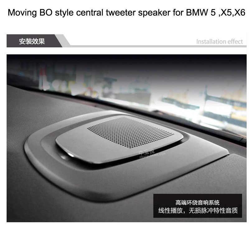 Altavoz de tweeter central en movimiento diagauto para BMW 5, X5, X6 elevación automática de música ambiental