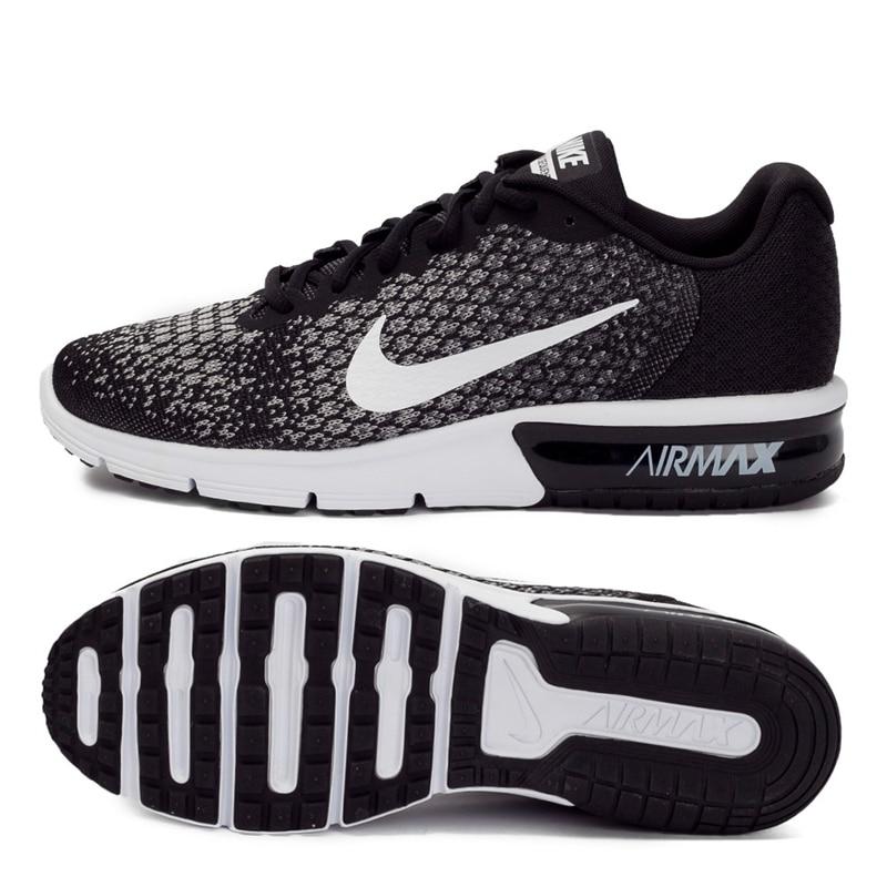 € 78.96 30% de DESCUENTO|Novedad Original 2018 NIKE AIR MAX SEQUENT 2 zapatillas de correr para hombre en Zapatos para correr de Deportes y ocio en