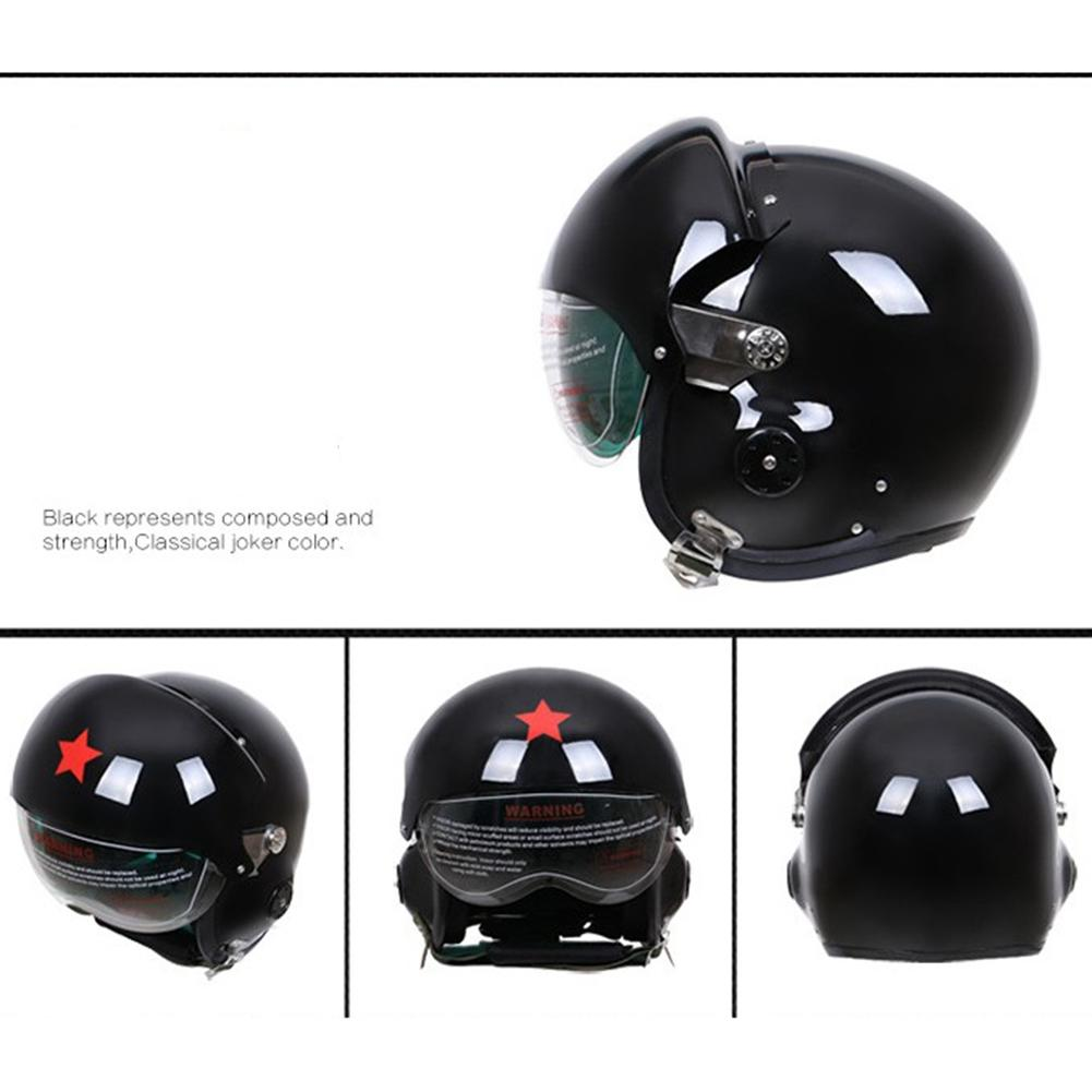 LumiParty Glass Fibre Reinforced Plastic Pilot Motorcycle Electric Car Winter Helmet for Men and Women технология 7 класс рабочая тетрадь фгос