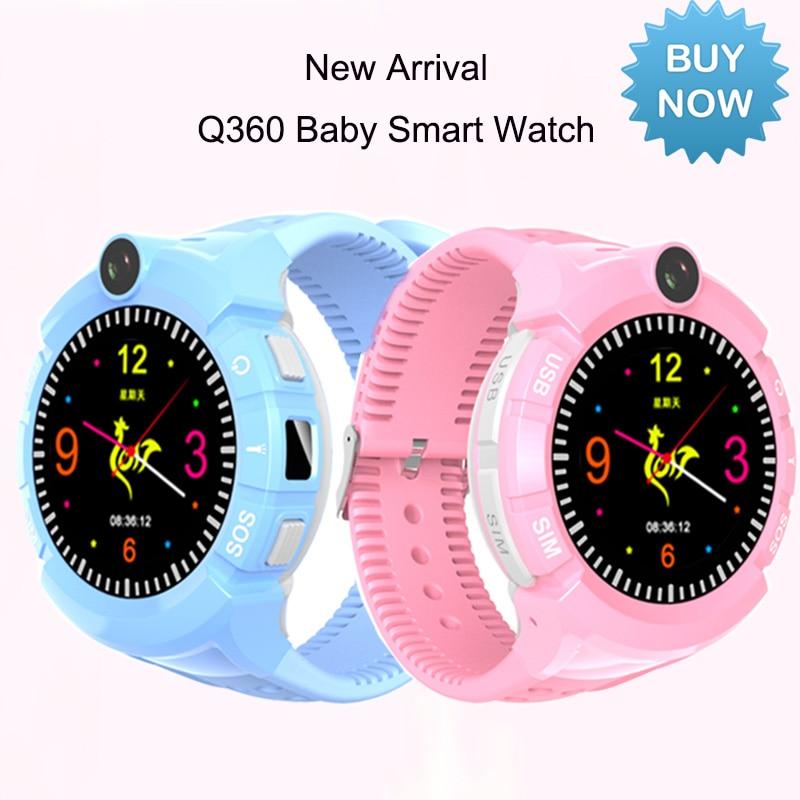 27959eae2c1 Relógio inteligente Para As Crianças Q360 GPS Watch Phone com Câmera  Lanterna WI FI Smartwatch SOS Anti Perdido Do Monitor Local PK q90 q528 em  Relógios ...