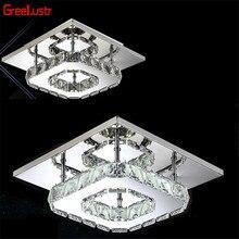 Светодиодный потолочный светильник с кристаллами Abajur, освещение в помещении, современный блеск, освещение для дома, освещение для прохода