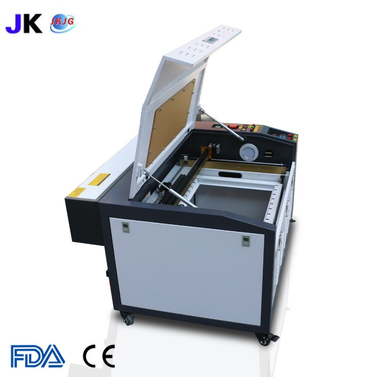 Image 4 - Free shipping CNC laser cutting machine/laser engraver/CO2 laser cutter 4060/6040 for wood plywood engraving machine hot saleWood Routers   -