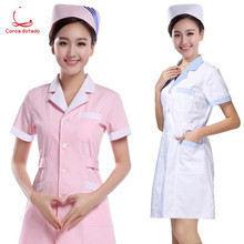 Summer work clothes pharmacy doctor men's and women's laboratory medical uniform thin section