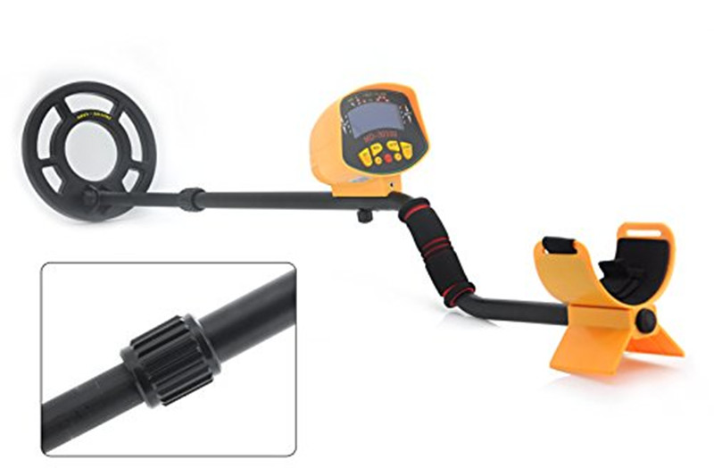 MD-3010II Professional underground Metal Detector md-3010ii gold pinpointer Gold Digger garrett Treasure Hunter waterproof coil