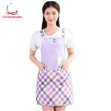 Sleeveless apron rural antifouling kitchen simple nail shop milk tea coffee work clothes waist