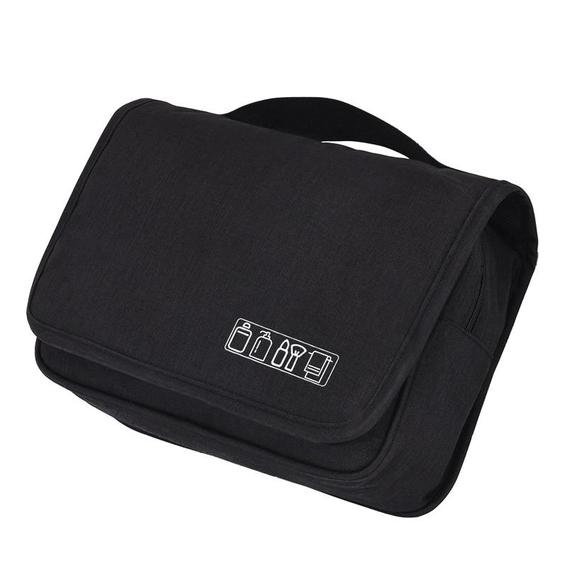 Купить с кэшбэком Waterproof Femal Hanging Cosmetic Bag Travel Organizer Toiletry Case Large Capacity Cosmetic Bags for Make Up