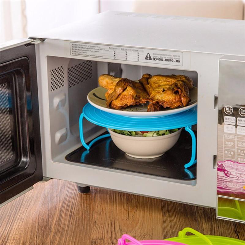 Nama Microwave Mengepul Rak Bahan Pp Plastik Warna Hijau Biru Pink Ukuran 23 5 8 3 Cm Daftar Paket 1 Pcs Oven