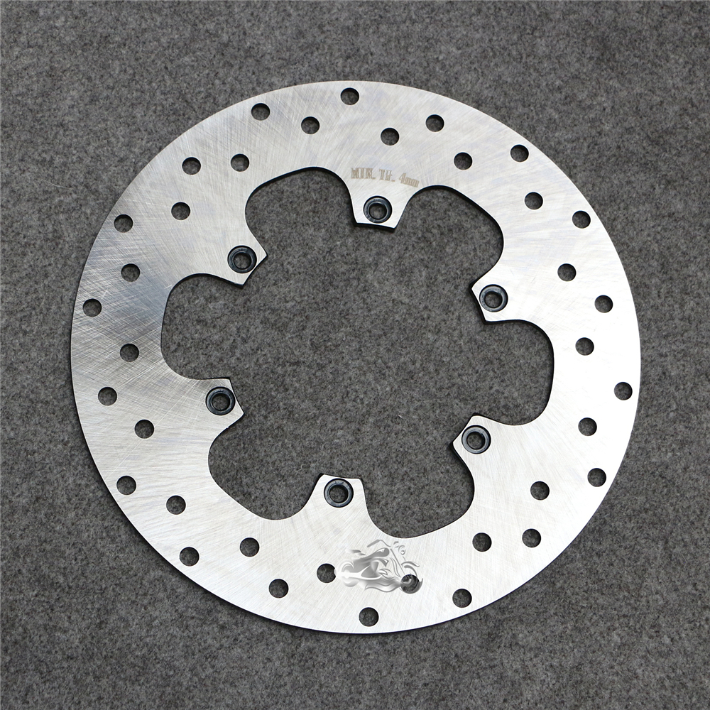 Rear Brake Disc Rotor For BMW F650CS Funduro F650GS F650ST 1993-2008 & G650GS G650 Xcountry G650 Xmoto 2007-2014 Motorcycle 5 holes rear brake disc rotor for bmw r 1200 gs 2013 2014
