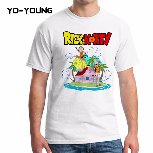 Rick And Morty Dragon Ball Spin Off T-Shirt