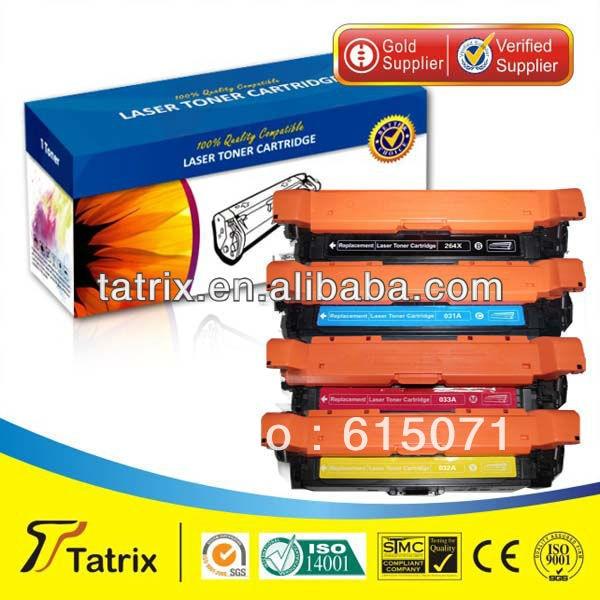 FREE DHL MAIL SHIPPING ,CF032A Toner for HP Color LaserJet Enterprise CM4540f MFP Printer Toner Cartridge. Best CF032A Toner