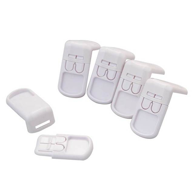 1pc Plastic Baby Safety Protection From Children In Cabinets Boxes Lock Drawer Door Security Product Kids Child Baby Proof Locks 1
