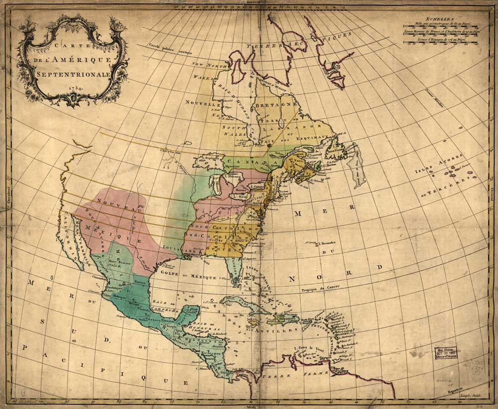 Compare Prices On North America Map Online ShoppingBuy Low Price - North america map 1700