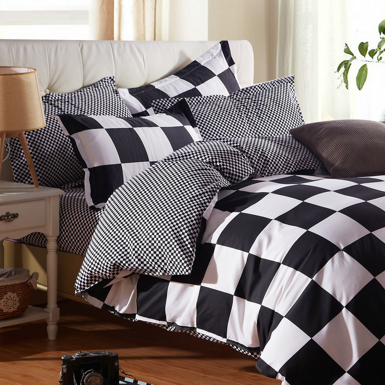 Grid Bed Linen Twin Xl