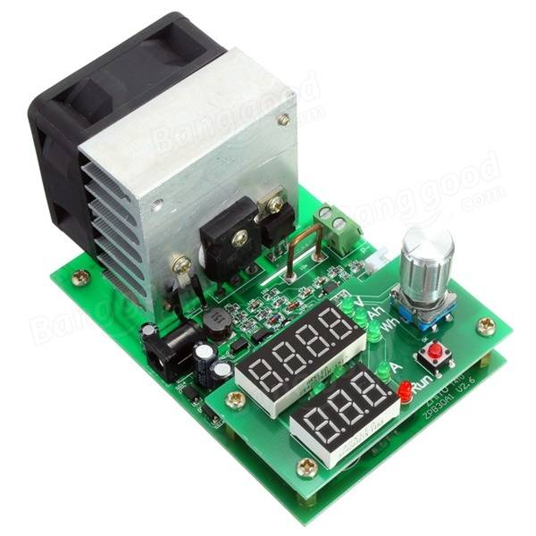 Multifunction 60W Constant Current Electronic Load Battery Capacity Tester ModuleMultifunction 60W Constant Current Electronic Load Battery Capacity Tester Module