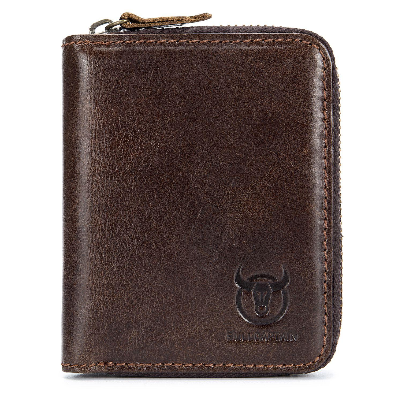 ABDB BULLCAPTAIN Genuine Leather Men Wallet Card Pack