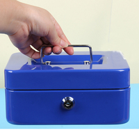 2017 Portable Security Safe Box Money Jewelry Storage Collection Box Home School Office Compartment Tray Password