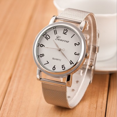 2018 New Famous Brand Silver Casual Quartz Watch Women Mesh Stainless Steel Dress Women Watches Hodinky Relogio Feminino Clock недорго, оригинальная цена