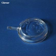 Glass 1pc hookah shisha plate the healthy charcoal Holder sm