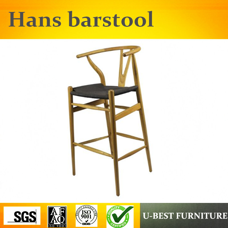 U-BEST living room chairs simple bar stools wholesale bar cafeteria chair, Restaurant counter chair цена