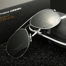 VEITHDIA Aluminum Magnesium Polarized Mens Sunglasses Driving Sun glasses Male Eyewear Accessories Goggle Oculos For Men 3364