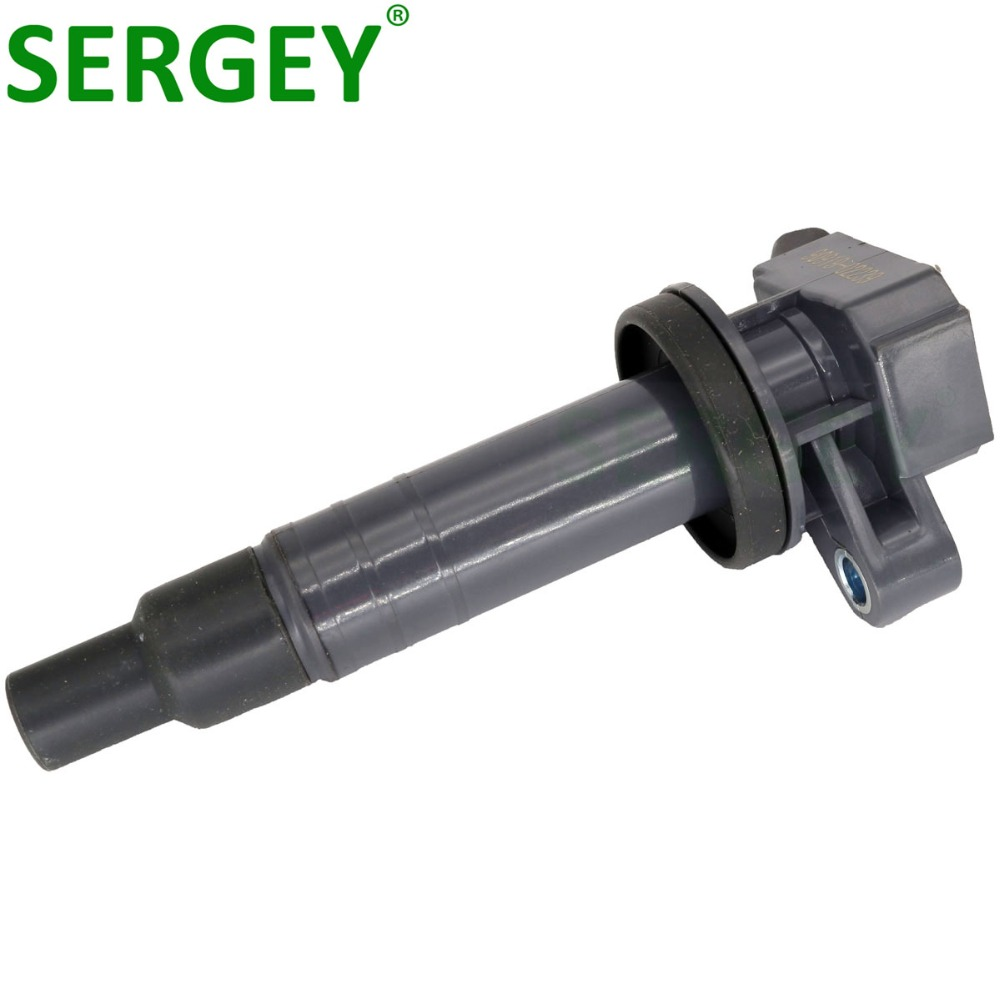 SERGEY High Quality Ignition Coil Pack 90919 02239 9091902239 For TOYOTA AVENSIS COROLLA YARIS VITZ WISH CITROEN C1 PEUGEOT 107 in Ignition Coil from Automobiles Motorcycles